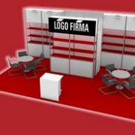Stand: Prateleira, Balcão, Mesa cadeira, provador